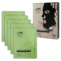 Vivo Per lei sheet masks (Foaming Charcoal Mask)