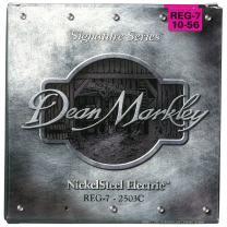Dean Markley 7-String NickelSteel Signature Series Electric Guitar Strings, 10-56, 2503C, Regular