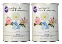 Wilton Gum Paste Mix, Set of 2 16oz Containers