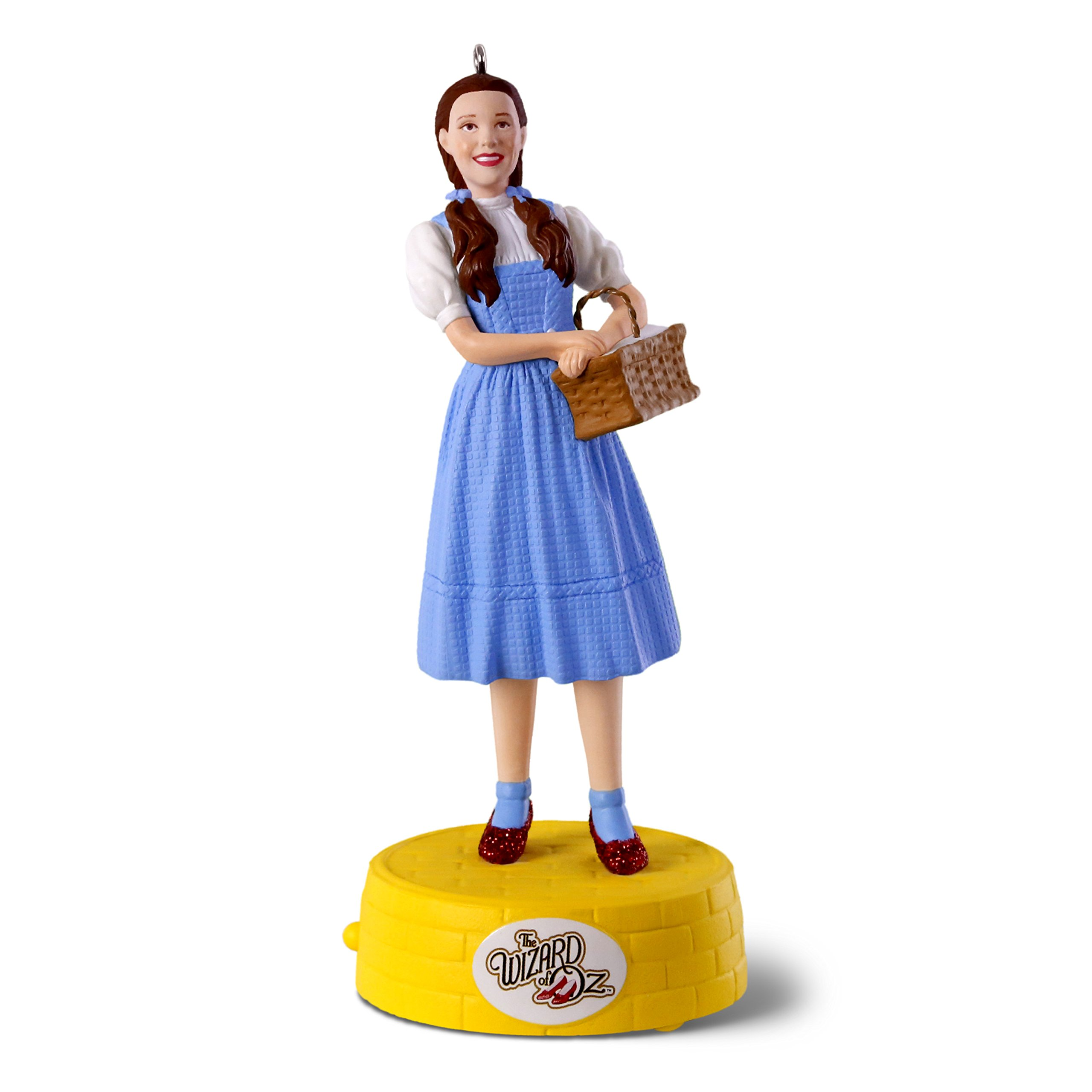 Hallmark Keepsake Christmas Ornament 2018 Year Dated, The Wizard of Oz Collectibles Dorothy Somewhere Over the Rainbow With Music