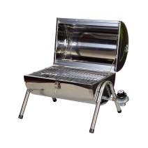 Stansport Propane BBQ - Stainless Steel