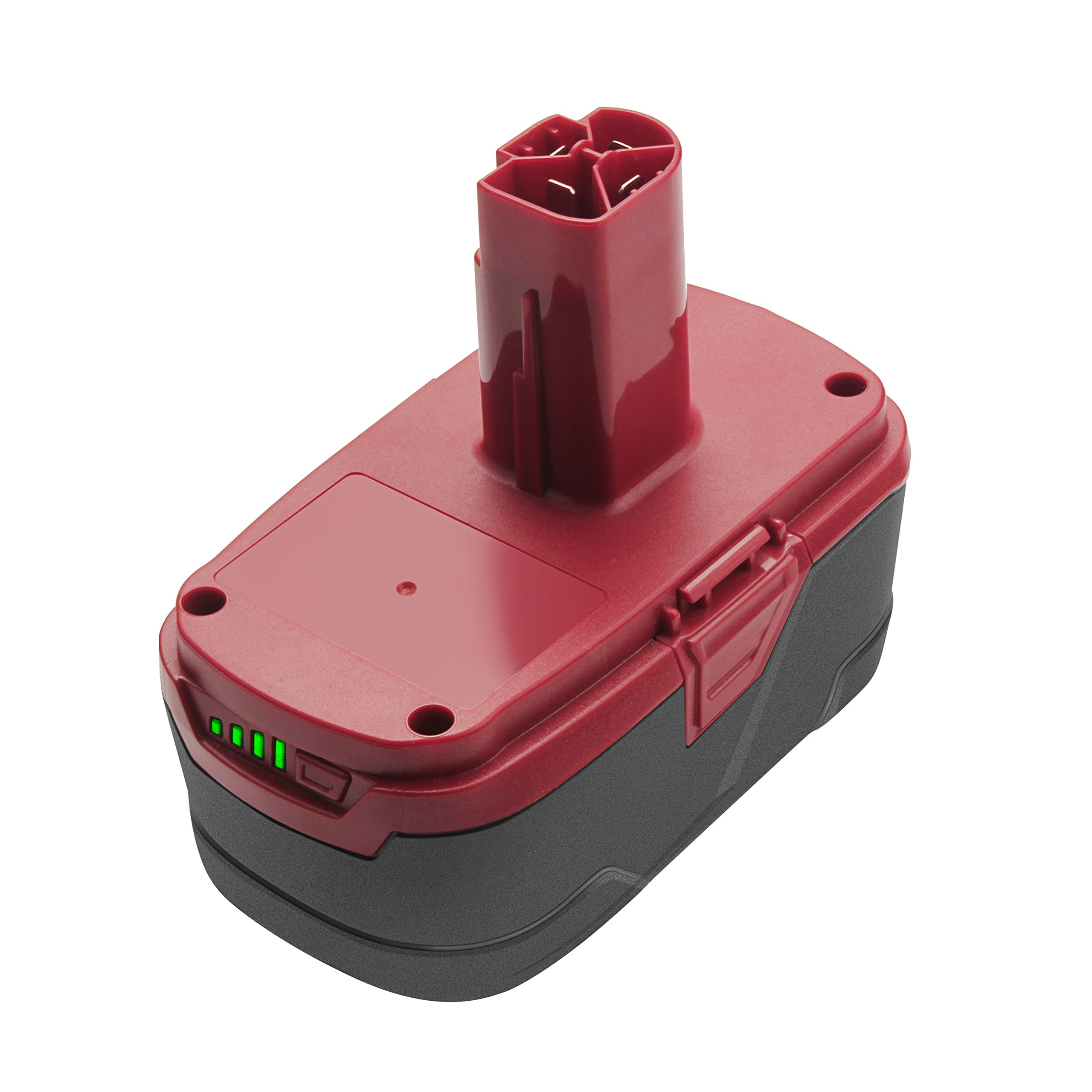 Turpow 6.0Ah 19.2-Volt Lithium Ion Battery Replacement for Craftsman C3 Battery XCP Craftsman 19.2-Volt Battery 130279005 1323903 130211004 11045 315.115410 315.11485