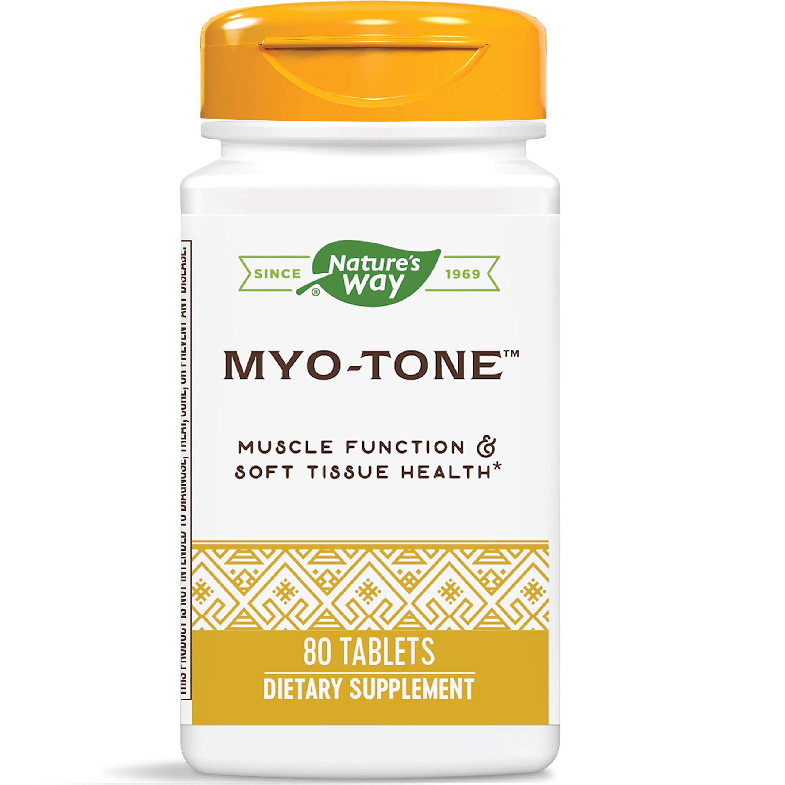 Nature's Way Myo-Tone Supports Healthy Muscles, Tendons and Ligaments, 80 Tablets