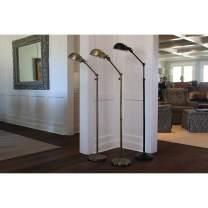 Decor Therapy Floor Lamp PL3897, 9.57w 12.4d 71h, Bronze