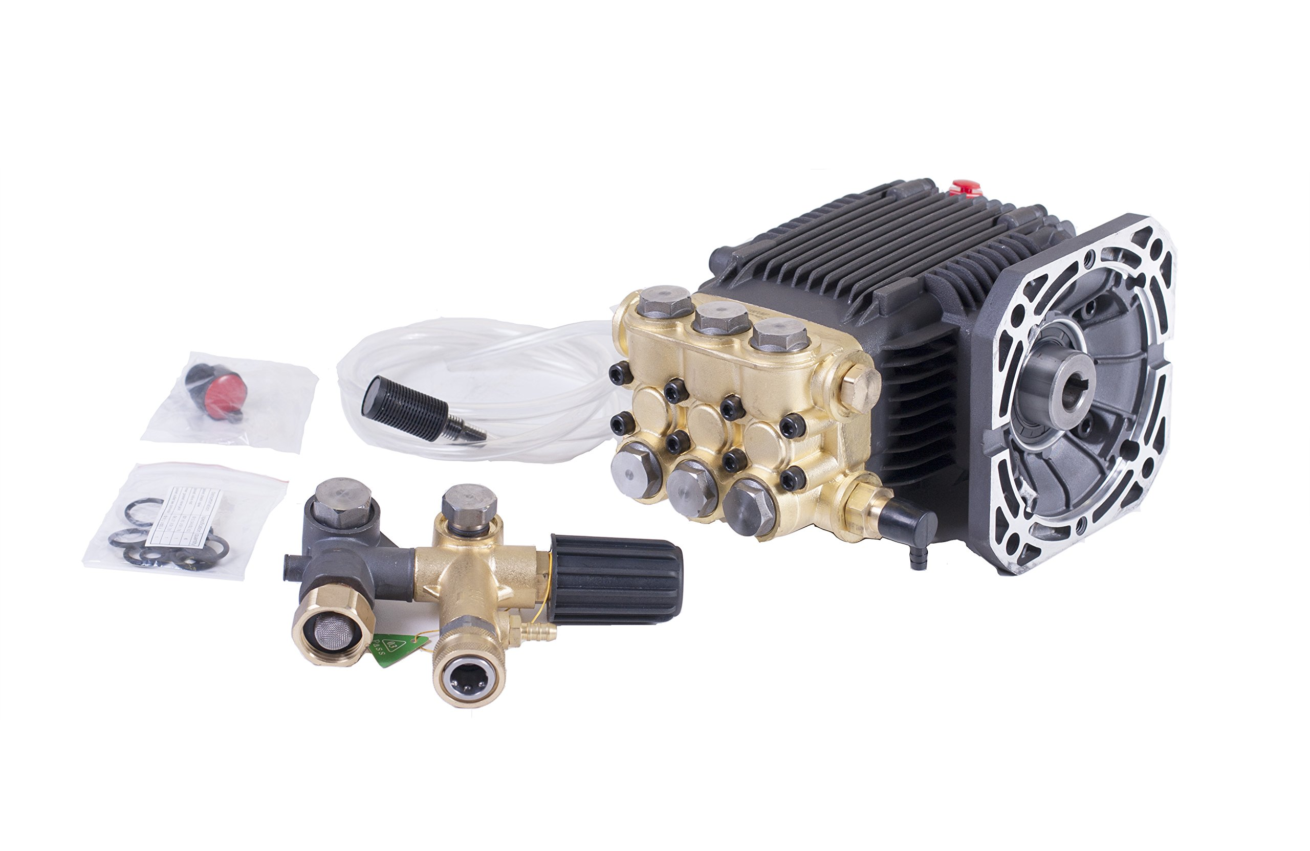 """Direct Drive 5/8"""" Hollow Shaft Pressure Power Washer Pump 2.2 GPM 1500 PSI"""