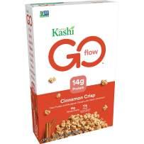 Kashi GO Cinnamon Crisp Breakfast Cereal - Non-GMO Project Verified, Vegan, 14 Oz Box