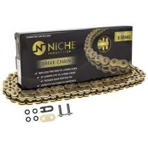 NICHE Gold 520 X-Ring Chain 104 Links With Connecting Master Link