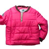 Buckle Me Baby Coat - Safer Car Seat Girls Winter Jacket - Power of Pink - Size 2T