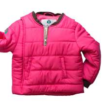 Buckle Me Baby Coat - Safer Car Seat Girls Winter Jacket - Power of Pink - Size 18 Months
