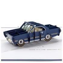 Hallmark Signature Paper Wonder Pop Up Birthday Card (Classic Car, Amazing Ride)