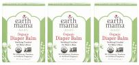 Organic Diaper Balm by Earth Mama   Safe Calendula Cream to Soothe and Protect Sensitive Skin, Non-GMO Project Verified, 2-Fluid Ounce (3-Pack)