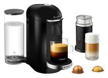 Breville-Nespresso USA BNV450BLK1BUC1 VertuoPlus Coffee and Espresso Machine, 14.8 x 11 x 15.5 inches, Black