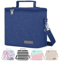 Simple Modern 4L Blakely Lunch Bag for Women & Men - Blue Insulated Kids Lunch Box -Twilight