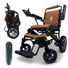 "2020 Limited Edition Remote Control Foldable Electric Wheelchair Mobility Aid Lightweight Motorized Power Wheelchairs (17.5"" Wide)"
