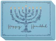 Now Designs Pm4 Cork-Backed Happy Hanukkah Placemat