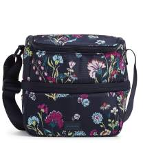 Vera Bradley Recycled Lighten Up ReActive Expandable Lunch Cooler Lunch Bag