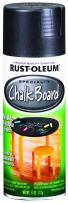 Rust-Oleum 1913830-2PK Chalkboard Spray Paint, 2 Pack, Black, 2 Piece