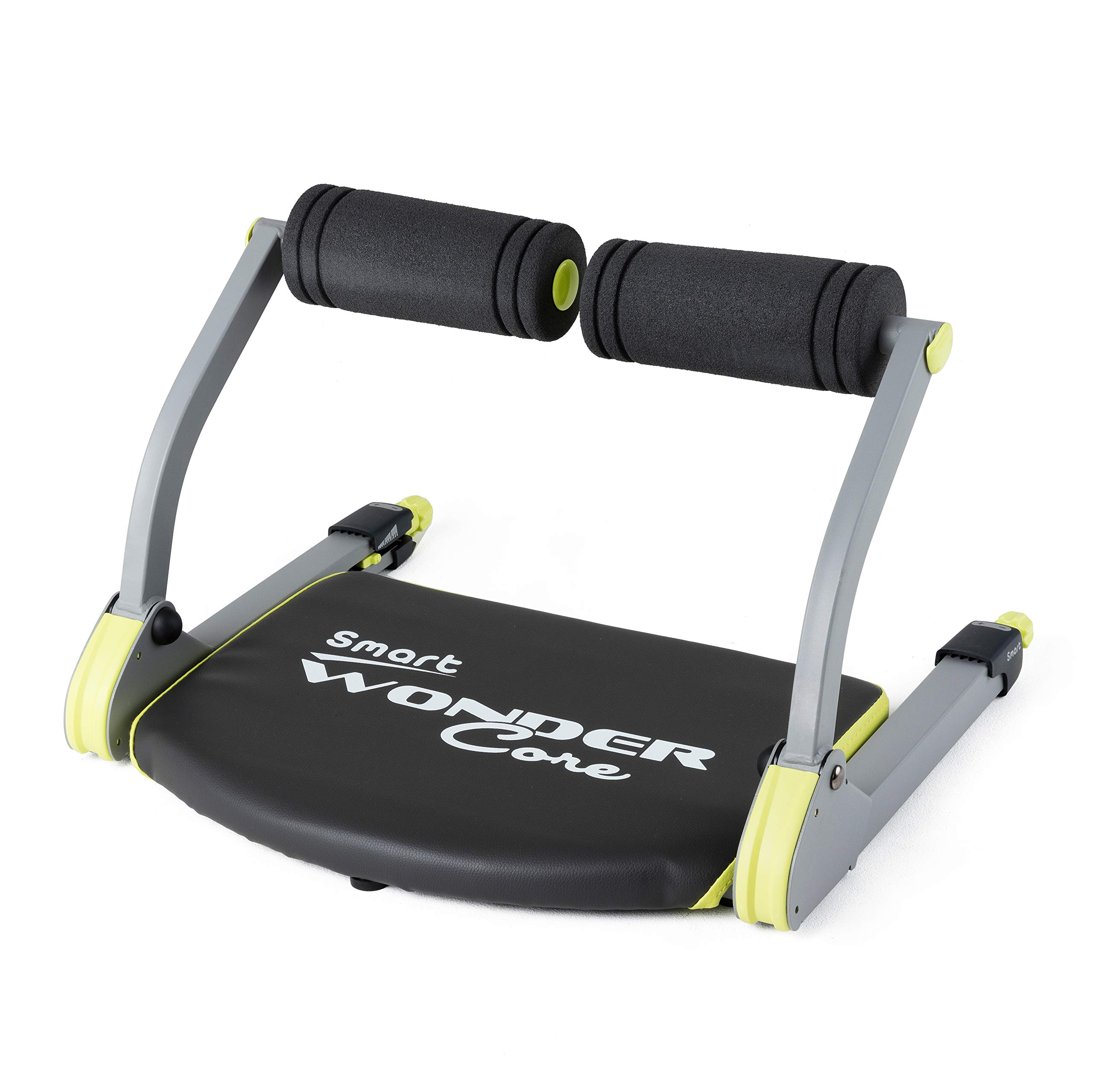 WONDER CORE Smart : Body Muscle Toning + Cardio - Fitness Equipment - Compact & Portable - Muscles Building Exercises   Color (Black/Green) with Original Training App & Fitness Guide
