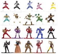 "Jada Toys Nano METALFIGS Power Rangers 20-Pack, 1.65"" Die-Cast Collectible Figures 30771"
