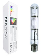 PROTOPIA Metal Halide Grow Light Bulb MH400WT46 MH 400 Watt Growing Lights, for Indoor Plants, 6000K, 36000Lumens, Great for Commercial Applications, 1 Year Warranty