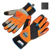 Waterproof Work Gloves, High Visibility, Thermal Insulated, Touchscreen, Enhanced Grip, Ergodyne ProFlex 818WP