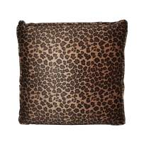 HealthmateForever High Quality Vibrating Massage Relaxation Pillow | Best Pillows for Back and Neck Pain | Sciatica Nerve Cushion to Relieve Sciatic Pain (Small Leopard)