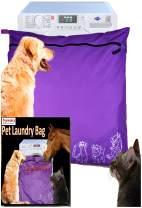 Joymaney Pet Laundry Bag | Stops Pet Hair Blocking The Washing Machine | Jumbo Size Wash Bag Ideal for Dog Cat Horse | Hair Remover Safely