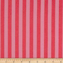 FreeSpirit Fabrics Poppy FreeSpirit Tula Pink All Stars Tent Stripe Fabric by The Yard