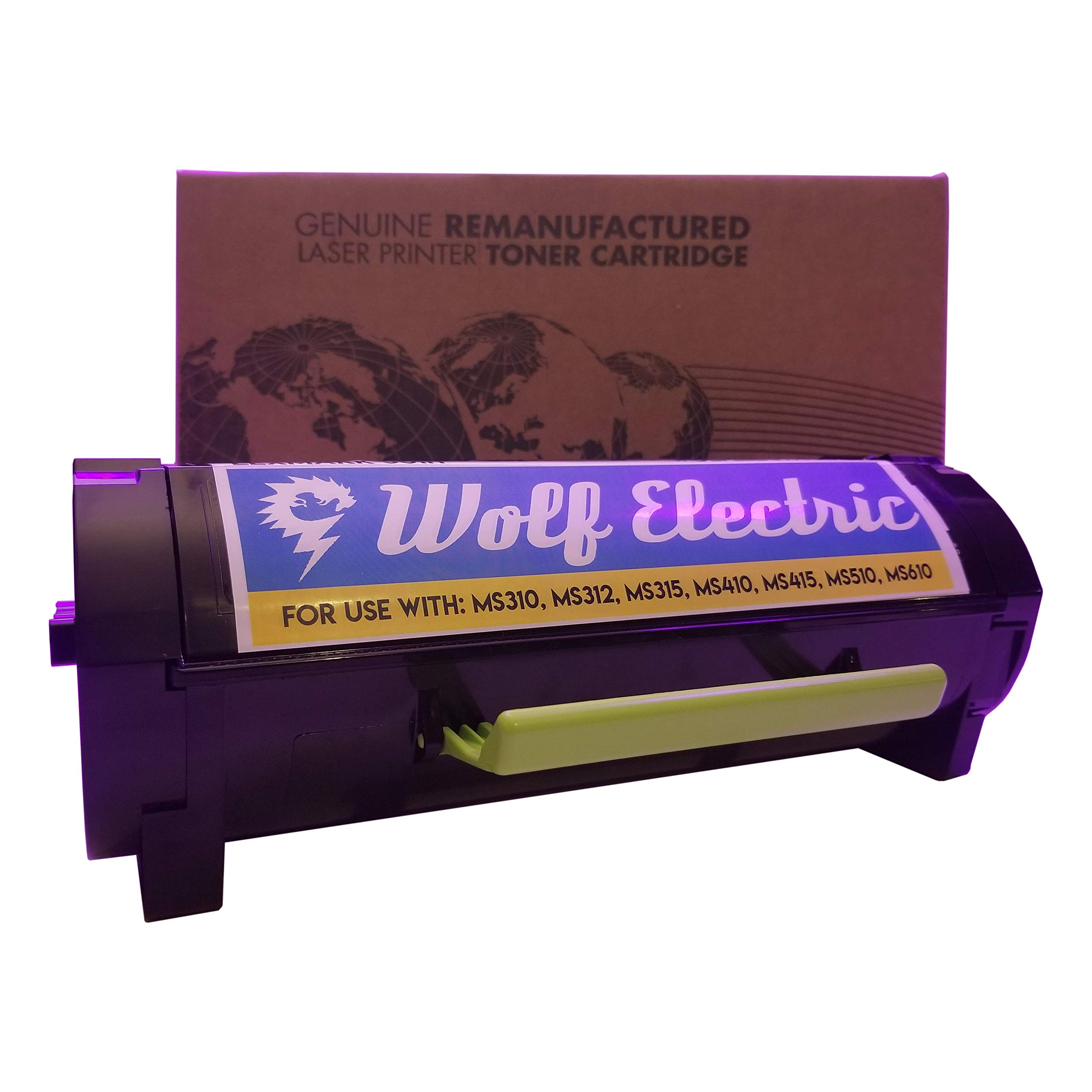 Wolf Electric Compatible Laser Toner Cartridge - Lexmark 501H High Yield (50F1H00)