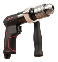 "JET JAT-621 Pneumatic R12 Composite Rev Drill, 1/2"",BLACK,RED"