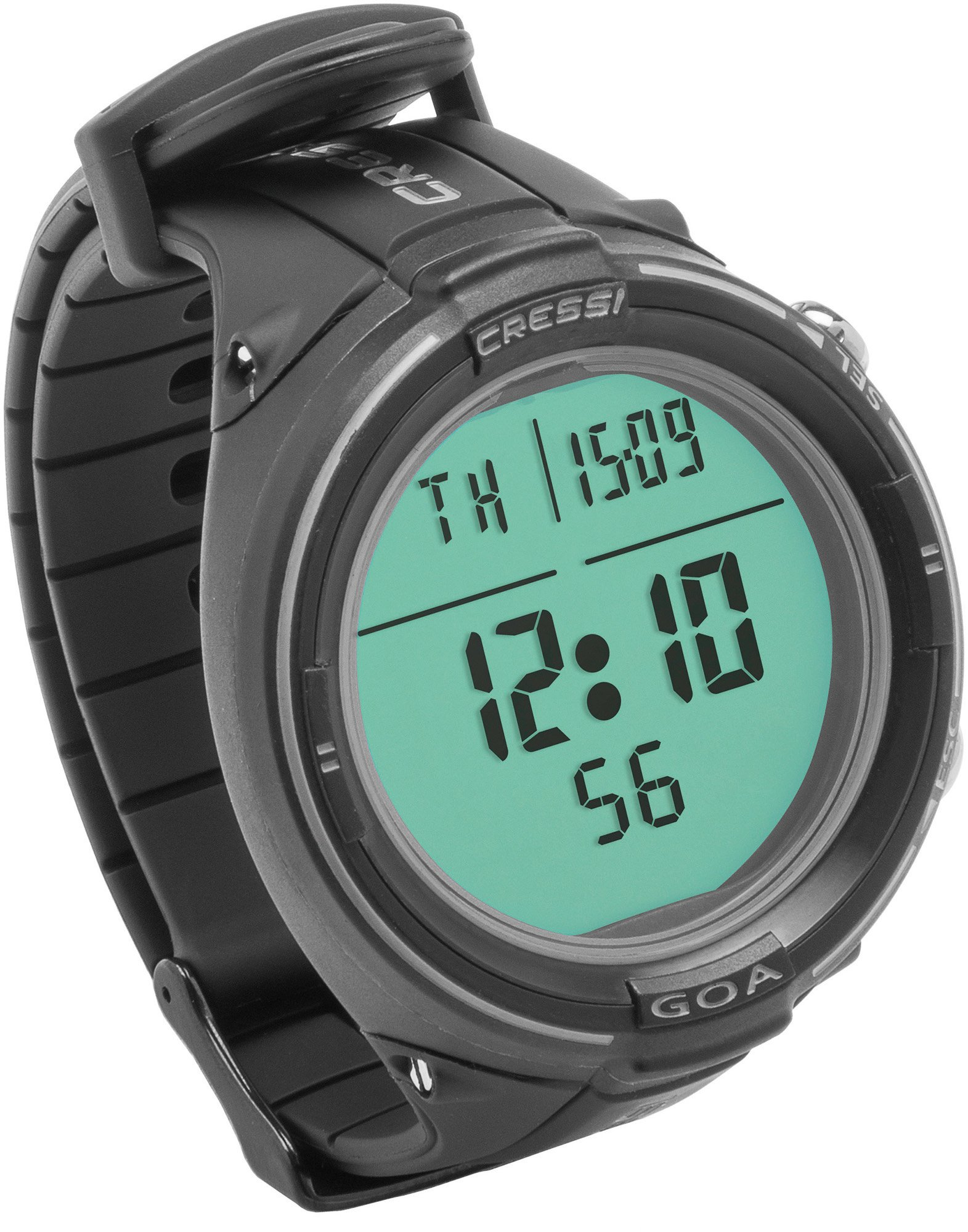 Cressi Goa Dive Watch Computer | 4 Programs - Air/Nitrox, Freediving, Gage | Made in Italy