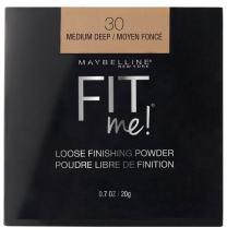 Maybelline Fit Me Loose Finishing Powder, Medium Deep, 0.7 Ounce