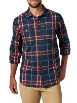 ATG by Wrangler Men's Long Sleeve Eco Utility Flannel Shirt