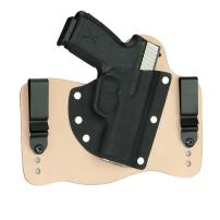 FoxX Holsters Kahr CM9, CW9, P9, PM9 in The Waistband Hybrid Holster Tuckable, Concealed Carry Gun Holster