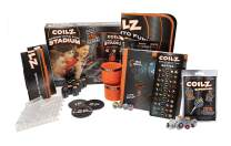 Coilz Spring into Fun Stadium, Plus 8pc Coilz Blind Super Pack by Relevant Play