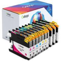 Odoga 10 Pack LC201 LC203 LC203XL Ink Cartridge Replacement for Brother MFC-J480DW J485DW J4420DW J885DW J4620DW J460DW J5520DW J680DW [4 Black, 2 Cyan, 2 Magenta, 2 Yellow] - High Yield Combo Pack