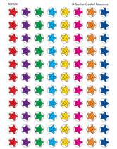 Teacher Created Resources Mini Stickers Valu Pack, Smiley Stars (5141)