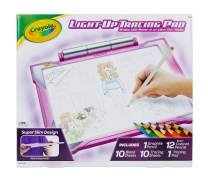Crayola Light Up Tracing Pad Pink, AMZ Exclusive, At Home Kids Toys, Gift for Girls, Age 6, 7, 8, 9, 10