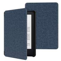 MoKo Case Fits All-New Kindle (10th Generation - 2019 Release Only), Ultra Lightweight Shell Cover with Auto Wake/Sleep, Will Not Fit Kindle Paperwhite 10th Generation 2018 - Denim Indigo