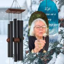 ASTARIN Personalized Memorial Wind Chimes Outdoor, Customize Wind Chimes for Christmas/New Year Gift, in Memory Personalized Wind Chime, Remembrance Wind Chime