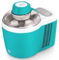 Maxi-Matic Freezing Self-Refrigerating Ice Cream Maker, Frozen Yogurt, Sorbet, Gelato Treat, 1.5 Pint, Turquiose