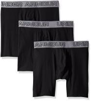 "Under Armour Men's Under Armor Charged Cotton Stretch 6"" Boxerjock – 3-Pack"