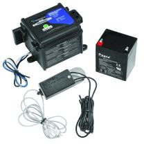 Tekonsha 50-85-325 Shur-Set III Breakaway System with LED Test Meter, Battery, Switch and Charger