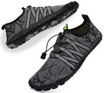 METOG Women Men Water Shoes Quick-DryNon-Slip Barefoot Aqua Shoes for Beach Swim Surf Diving Fishing Yoga Jogging