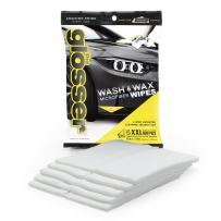 Clean Tools 99006M The Glosser Microfiber Detailing Wipes, 5-Pack