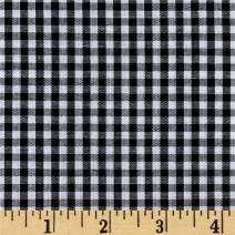 Richland Textiles Richcheck 60in Gingham Check 1/8in Black Fabric By The Yard