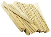 Craft Popsicle Sticks - 10-Inch Jumbo Large Big Wide Wooden Paint Stir Sticks - Wood Epoxy Resin Slime Mixing Sticks (100 Pieces per Package)