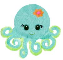 First & Main 10 Fanta Sea Octavia Octopus Basic Plush Toys