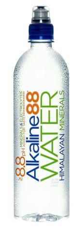 Alkaline 88 Bottled Water, 700 mm, Case of 24