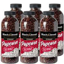 Black Jewell Crimson Hulless Popcorn Kernels 15 Ounces (Pack of 6)